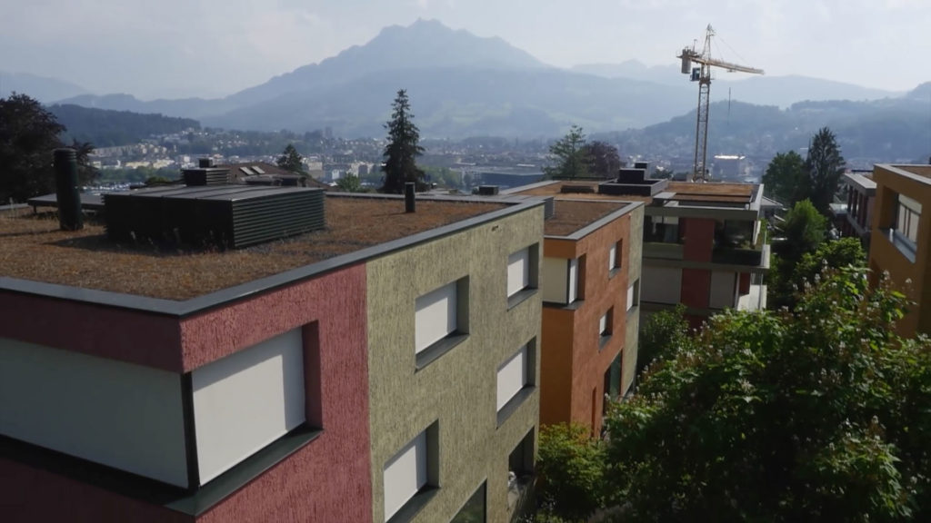 Stadtvillen hizlisberg luzern amberg - Architekt amberg ...