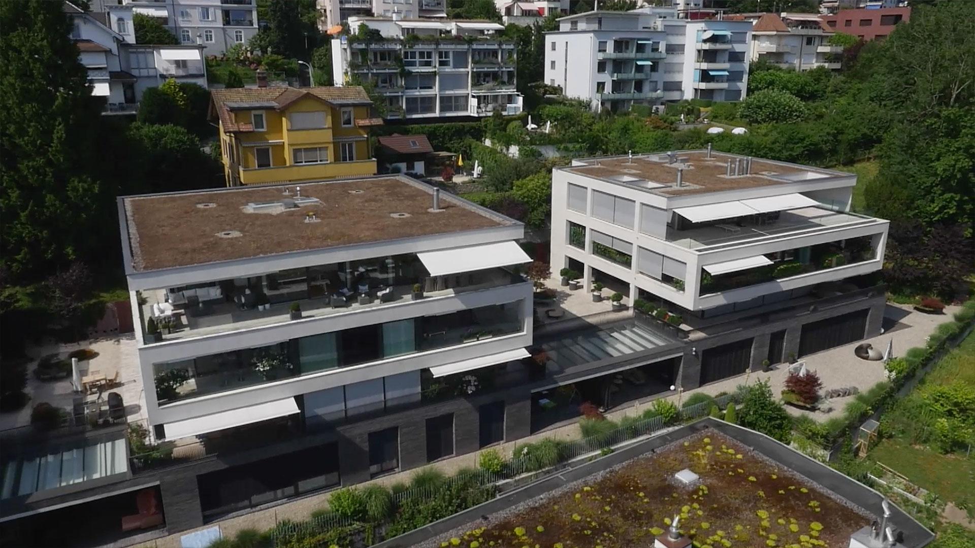 Stadtvillen brunnhalde luzern amberg - Architekt amberg ...